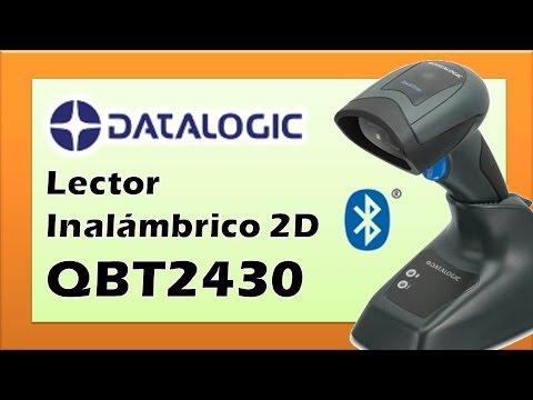 Lector de Códigos de Barras Inalámbrico 2D Omnidireccional Datalogic QBT2430