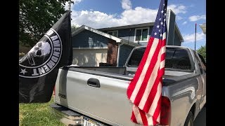 How to Mount Flags Onto Your Truck