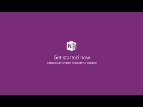 Transfer Your Evernote Notes Into Microsoft OneNote With The Importer Tool