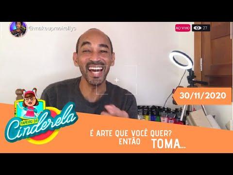 PAPEIRO DA CINDERELA - Exibido segunda-feira 30/11/2020