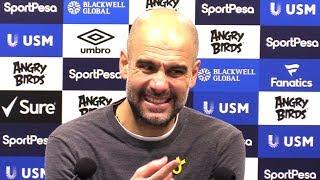 Everton 0-2 Manchester City - Pep Guardiola Full Post Match Press Conference - Premier League