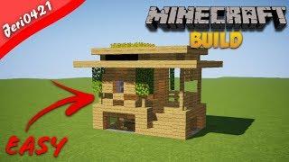 Cara Membuat Rumah Survival Minecraft Easy