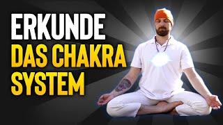 Chakra Meditations -  Reihe | Video 1, Erkunde das Chakrasystem | Chakra Ausgleich | Beta Wellen