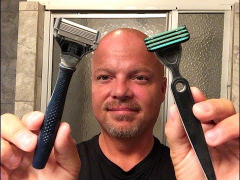 Head Shave: Harry's vs Defender Razor