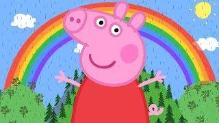 Peppa Pig En Español Episodios Completos 🌈 El Arcoíris 🌈 Dibujos Animados