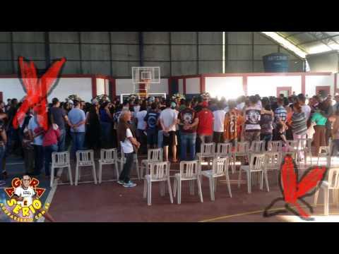 Familiares e amigos prestam últimas homenagens a Nelson da Escolinha e Eduardinho do Acadêmicos da Vila †
