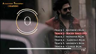 #KGF All Mass BGM | Dolby | Heart Touching Mother BGM | With Download Link | Ravi Basrur AT Creation