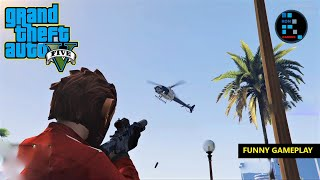GTA V | FUNNY FIGHT WITH EVERYONE & WE CAN'T STOP KILLING