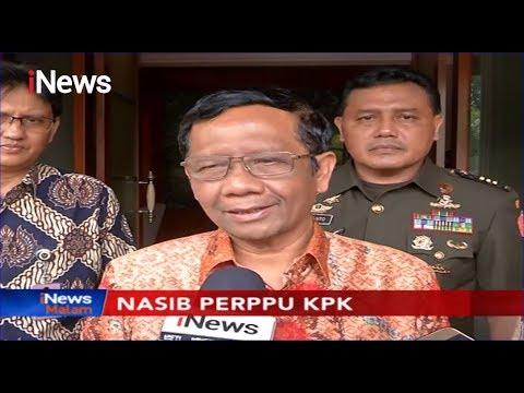 Mahfud MD Pastikan Presiden Belum Putuskan Terbitkan Perppu KPK - iNews Malam 11/11