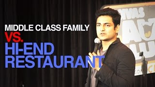 MIDDLE CLASS RESTAURANT PROBLEMS : STAND UP COMEDY -Kenny Sebastian