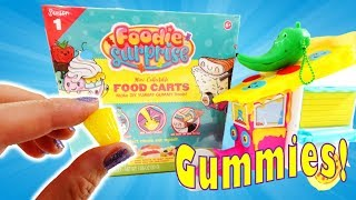 Foodie Surprise Food Carts With DIY Gummy Candy Kit Review