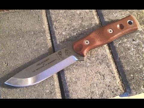 Full Review: Tops Brothers of Bushcraft Fieldcraft Knife (Tumble Finish): Bushcraft – Survival
