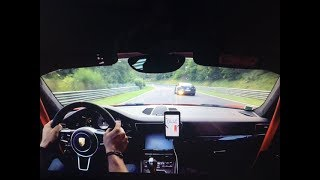 Manthey Racing 991 GT3 RS VS POLICE NISSAN GTR on Nurburgring big flame!