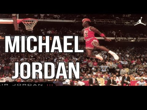 La vida de Michael Jordan el mejor jugador de basketball del mundo No 23
