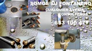 preview picture of video 'FONTANEROS VIATOR 653 100 477 Fontanería.'