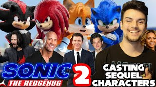 Casting Sonic The Hedgehog Movie Sequel Characters (ft. Beyoncé)