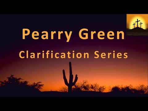 Bro Pearry Green - Quotes on Tribulation, Gold & Money Supply (Clarification Series: No 19 of 29)