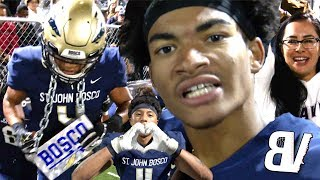 3 KICK RETURN TOUCHDOWNS?! #2 St John Bosco EXPLOSIVE Second Half! Bosco VS OLU FULL HIGHLIGHTS