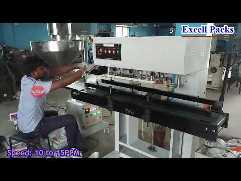 Powder Filling & Sealing Machine