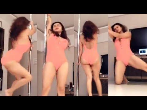 Aashka Goradia Pole Dance In Bikini Is Must Watch!