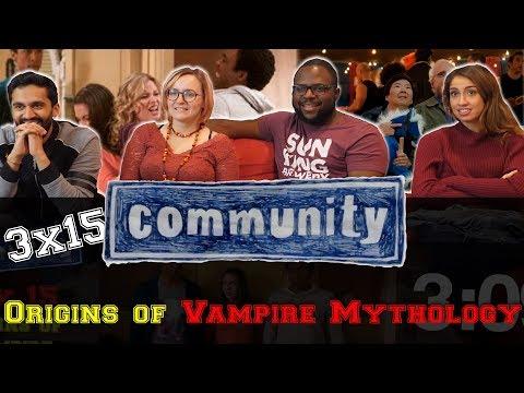 Community - 3x15 Origins of Vampire Mythology - Group Reaction