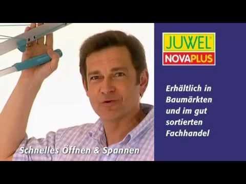 JUWEL Wäschespinne Novaplus  die funktioniert