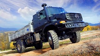Mercedes-Benz Zetros - test drive