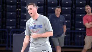 TJ McConnell at Sean Miller Basketball Camp