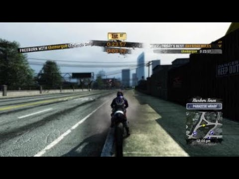 Burnout Paradise Remastered - Motorcycle Road Rules - 1st