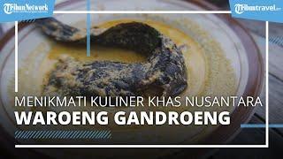 Kuliner Khas Pedesaan Ala Waroeng Gandroeng di Kota Solo, Harga Mulai Rp4.000