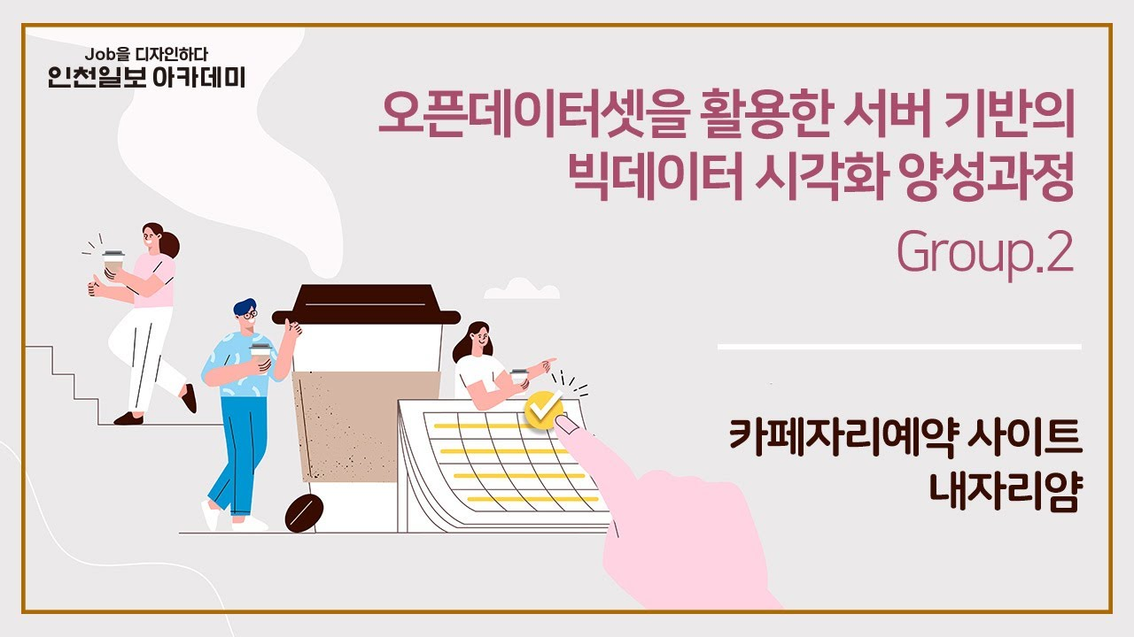 실시간 카페 예약/주문 서비스 - 내자리얌