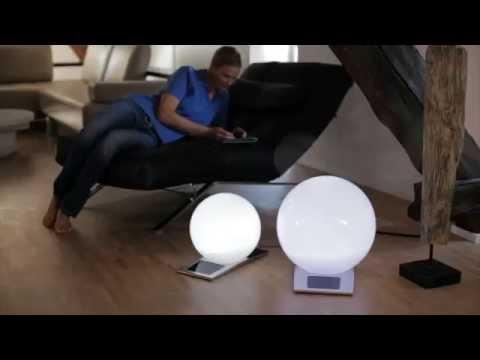 LED-Solar Kugelleuchte TRENDY mit 7-fach Farbwechsler - Wohnlicht.com