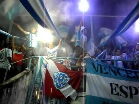 """BAC - Recebimento do time - Paysandu 3x2 Cametá"" Barra: Alma Celeste • Club: Paysandu"