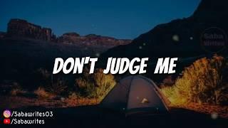 Inspirationa Sad Motivation WhatsappStatus // Don't  Judge Me // Life Changing Quotes // Saba Writes