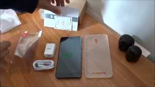 Unboxing Jiayu S3 Advanced (bought at Amazon) 3gb Ram - Android