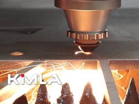 Laser fiber Kimla 10kW cięcie stali 10mm