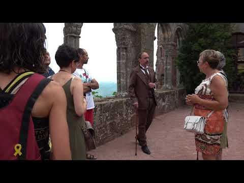 Ruta teatralitzada al Castell d'Escornalbou amb Eduard Toda