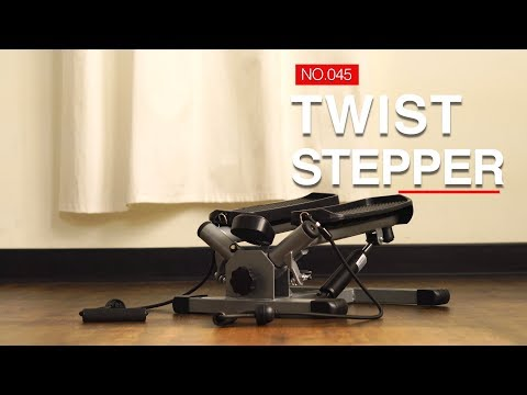 Sunny Health & Fitness No.045 Twist Stepper with Resistance Bands