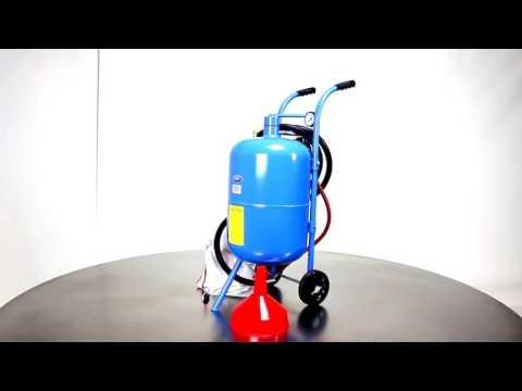 Mobiles Sandstrahlgerät - 45 Liter | Datona
