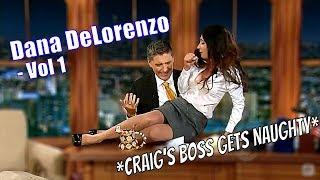 Dana DeLorenzo Aka Beth The CBS Executive - Is Bossing Craig Ferguson Around - Vol #1