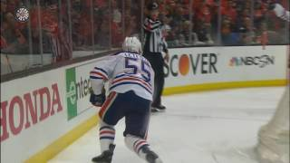 Oilers strike twice in just over a minute in Game 1 vs Ducks