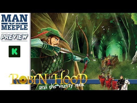 Robin Hood and the Merry Men Preview by Man Vs Meeple