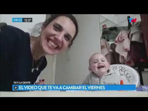 Video: Imperdible charla de una mamá con su beba