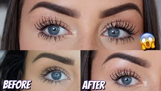 HOW TO GROW YOUR EYELASHES SO LONG | MIRACLE GROW FOR REAL - LOOK AT THE LENGTH OF MINE!