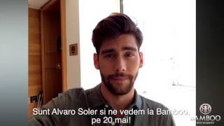Alvaro Soler  Bamboo Club Bucharest on May 20th 2016  video drop