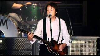 "Paul McCartney ""Live And Let Die/Day Tripper/Lady Madonna"" Live"