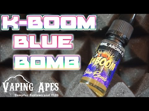 YouTube Video zu K-Boom Blue Bomb V2 Premium Aroma 10 ml