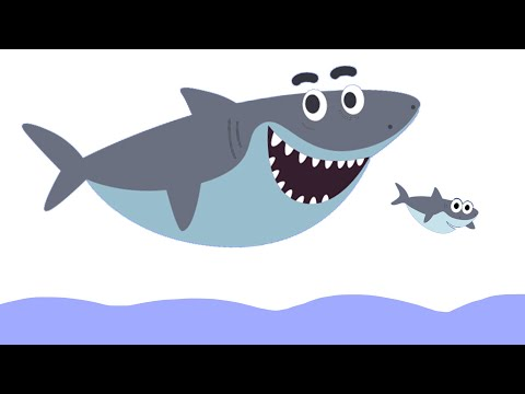 BABY SHARK на русском - АКУЛЕНОК - Songs for children - Танцы для детей видео