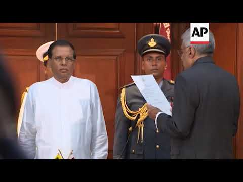 ARCHIVE of sacked Sri Lanka PM Wickremesinghe