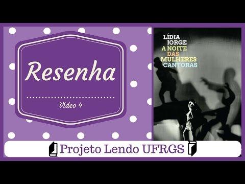 Projeto lendo UFRGS - A noite das mulheres cantoras